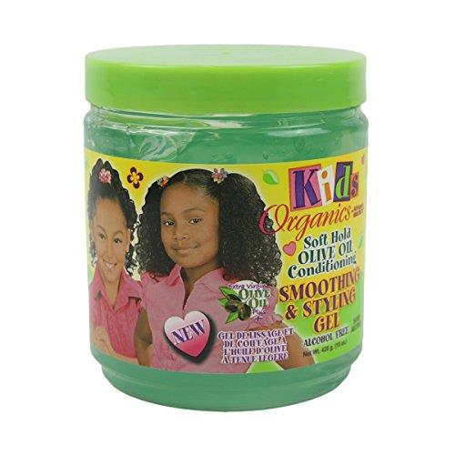 Africa`s Best Kids Organics Soft Hold Olive Oil Conditioning Smoothing & Styling Gel 426 g