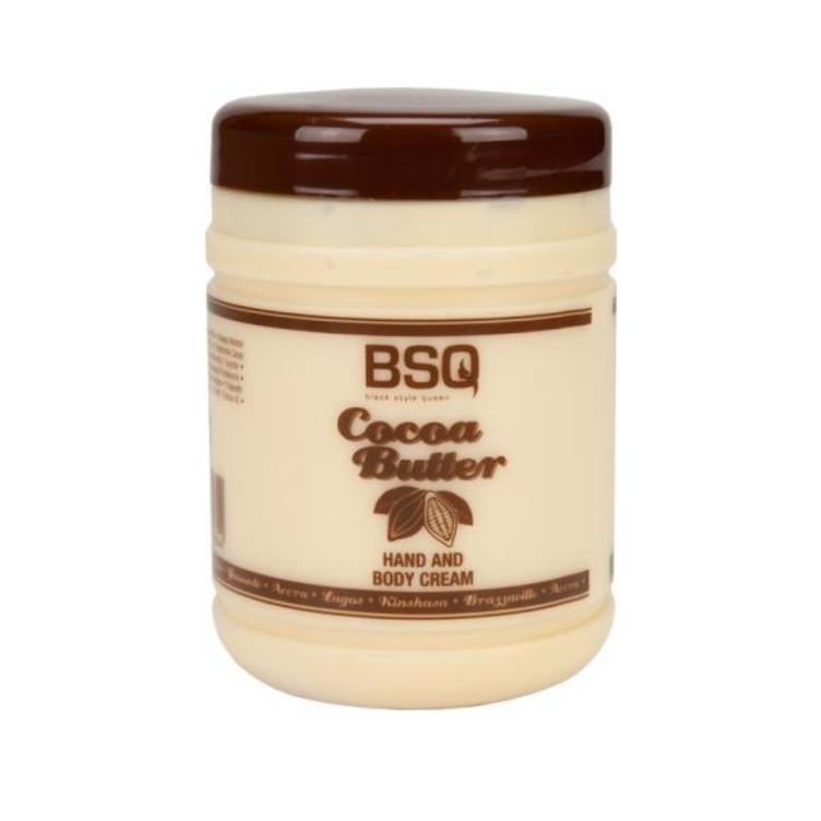 BSQ Cocoa Butter Hand and Body Creme 500 ml