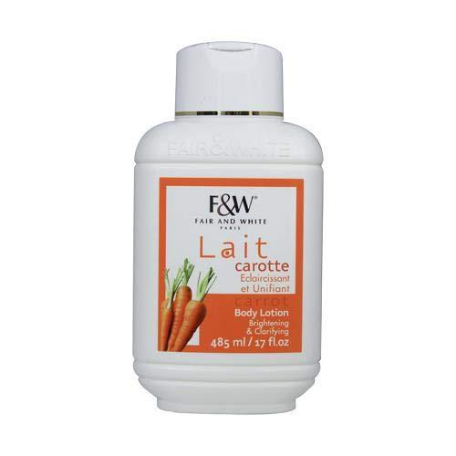 Fair & White Original Carrot Moisturizing Lotion 500 ml
