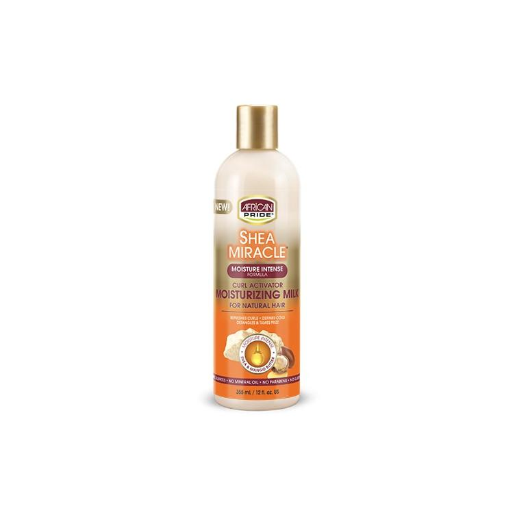African Pride Shea Miracle Moisturizing Milk Curl Activator 355 ml