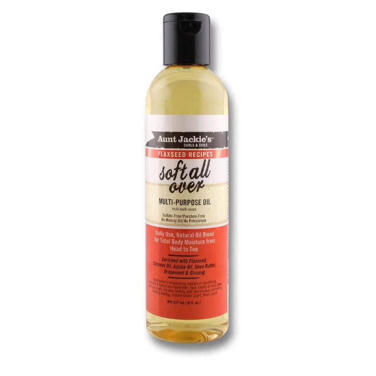 Aunt Jackie`s Curls & Coils Flaxseed Recipes Soft All Over Oil 237 ml