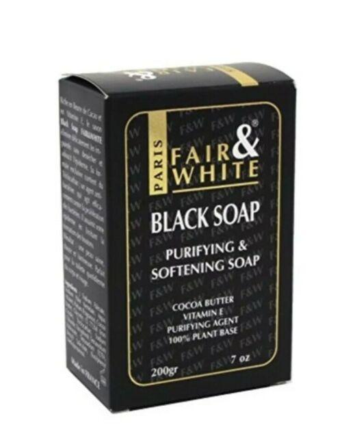 Fair and White Black Soap 200 g