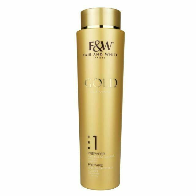 Fair and White Gold Brightening Lotion 350 ml