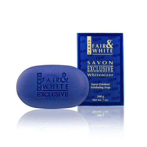 Fair and White Savon Exclusive Whitenizer Exfoliating Soap 200 g