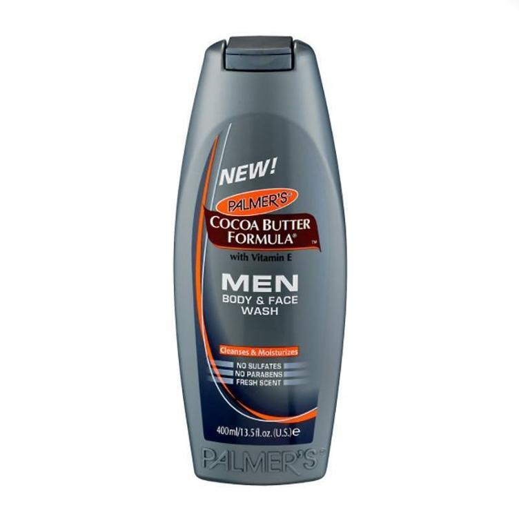 Palmer`s COCOA BUTTER FORMULA MEN Body & Face Wash 400 ml