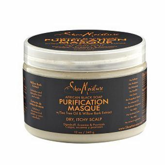 Shea Moisture African Black Soap Purification Masque 340 g