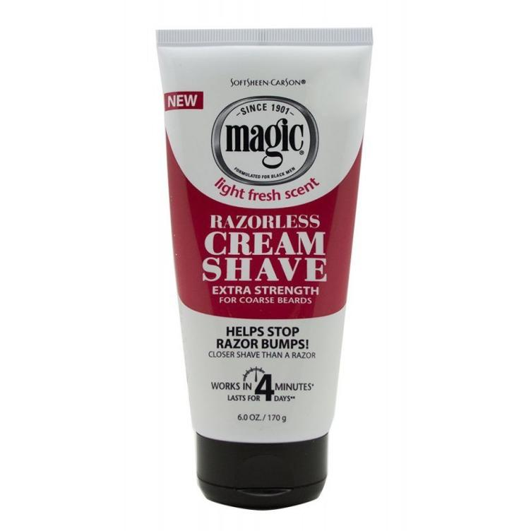 SoftSheen-Carson Magic Razorless Cream Shave Extra Strength 170 g