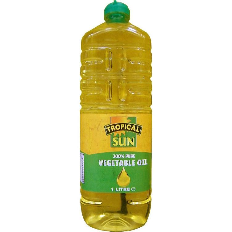 Tropical Sun Vegetables Oil 1 Lt.
