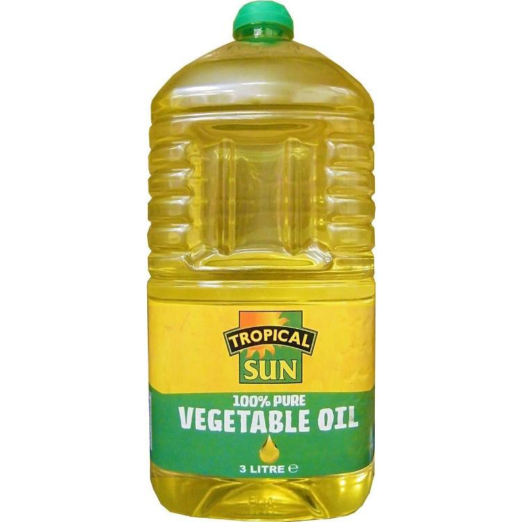 Tropical Sun Vegetables Oil 3 Lt.